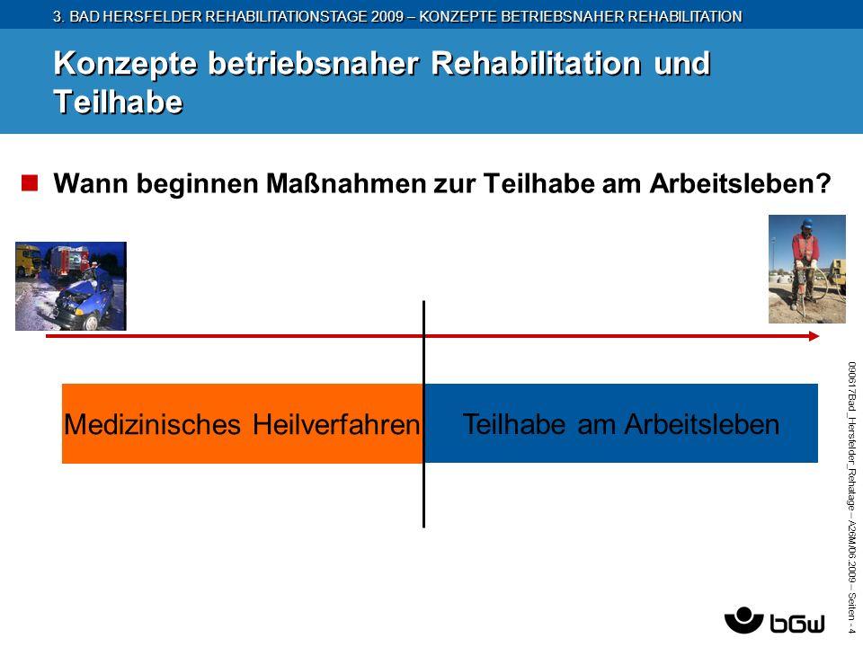 3. BAD HERSFELDER REHABILITATIONSTAGE 2009 – KONZEPTE BETRIEBSNAHER REHABILITATION 090617Bad_Hersfelder_Rehatage – A26M/ 06.2009 – Seiten - 4 Konzepte