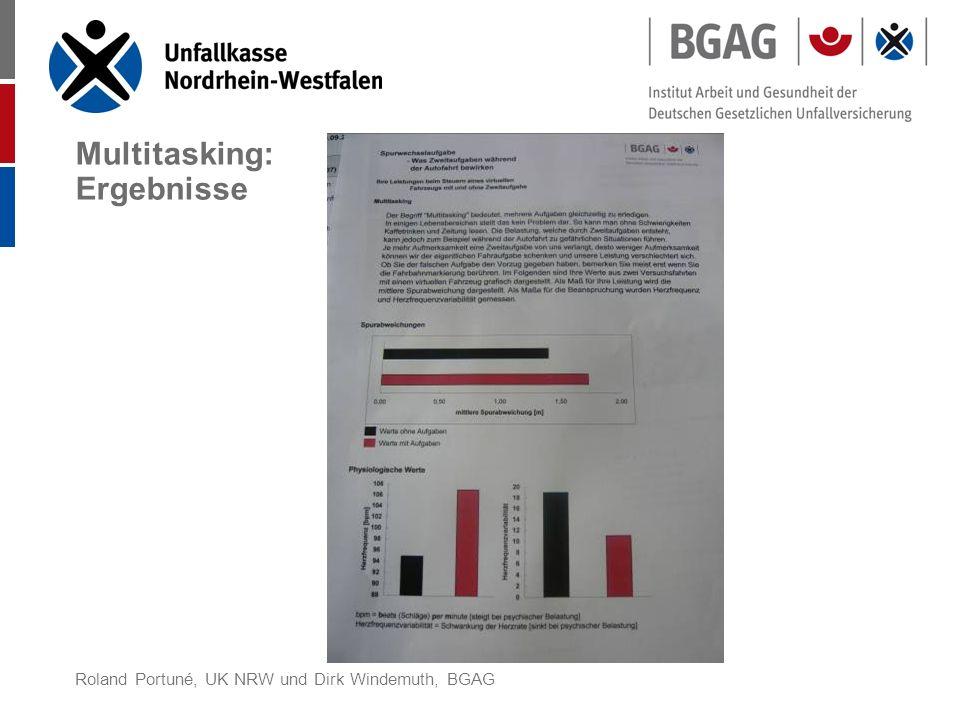 Roland Portuné, UK NRW und Dirk Windemuth, BGAG Beispiel der UK NRW Stress, Mobbing und Co.