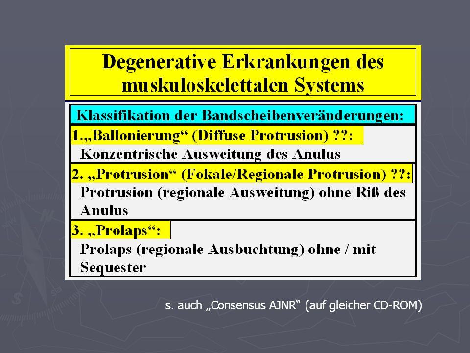 s. auch Consensus AJNR (auf gleicher CD-ROM)