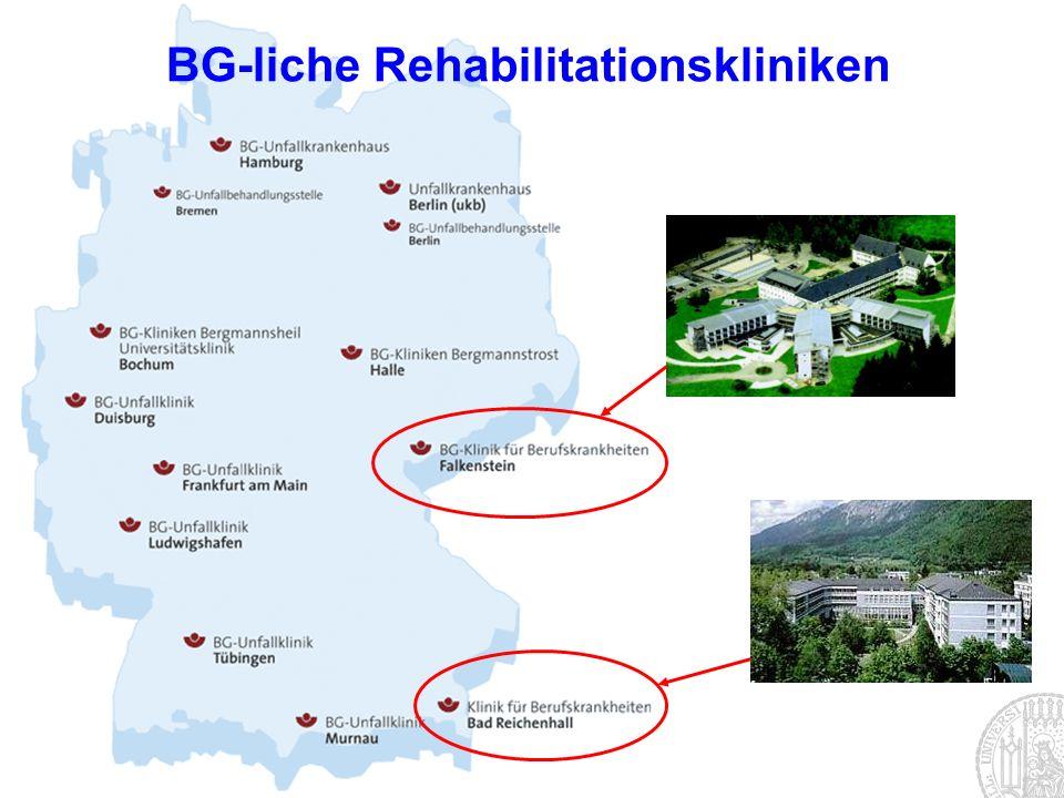 BG-liche Rehabilitationskliniken