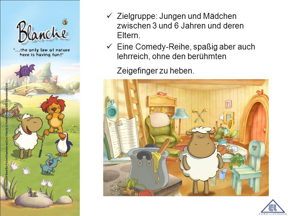 Die Charaktere der Serie wurden speziell entwickelt und gezeichnet, mit dem Ziel, sie später auf Konsumgüter zu übertragen.