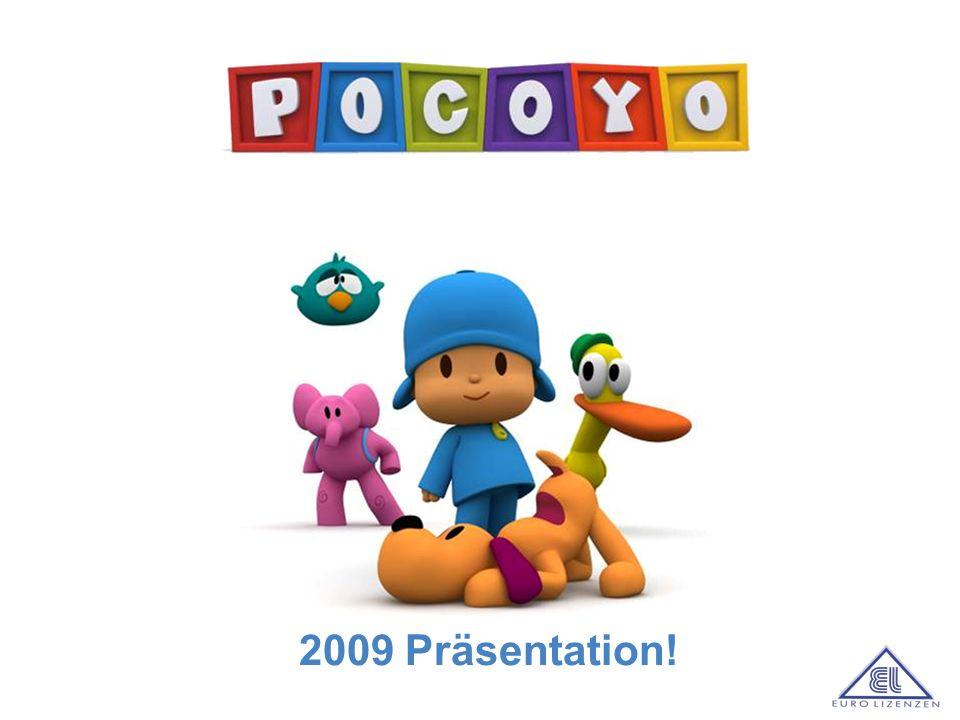 a Pocoyo ist ein lebensfroher, neugieriger kleiner Junge, der es liebt mit seinen Freunden Elli, Pato, Loula und Schlummerpieps zu spielen und zu entdecken.