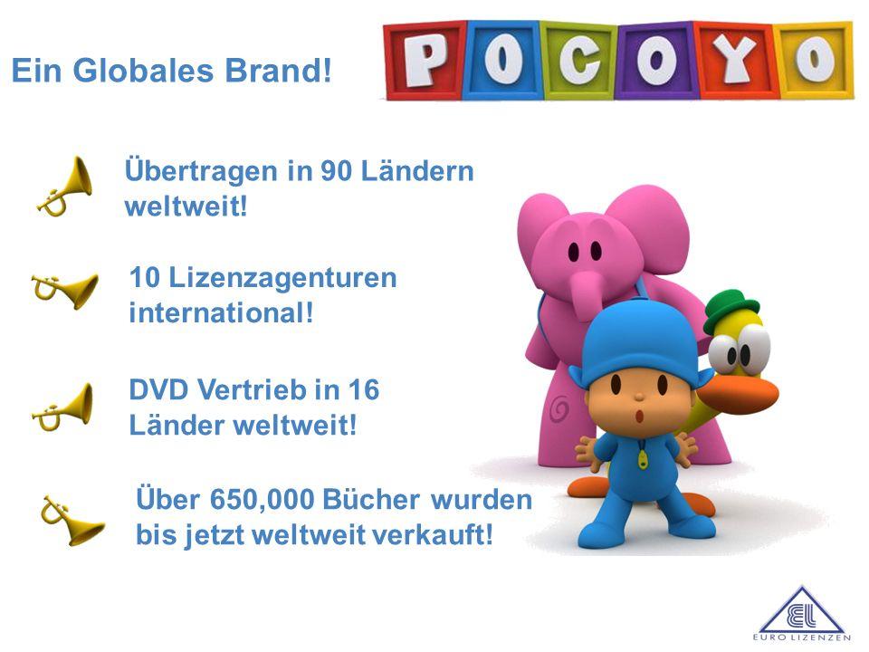 a Ein Globales Brand! Übertragen in 90 Ländern weltweit! DVD Vertrieb in 16 Länder weltweit! 10 Lizenzagenturen international! Über 650,000 Bücher wur