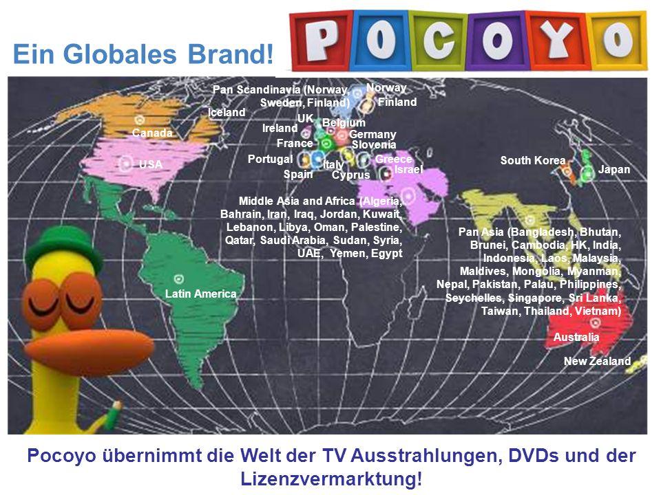 a Ein Globales Brand.Übertragen in 90 Ländern weltweit.