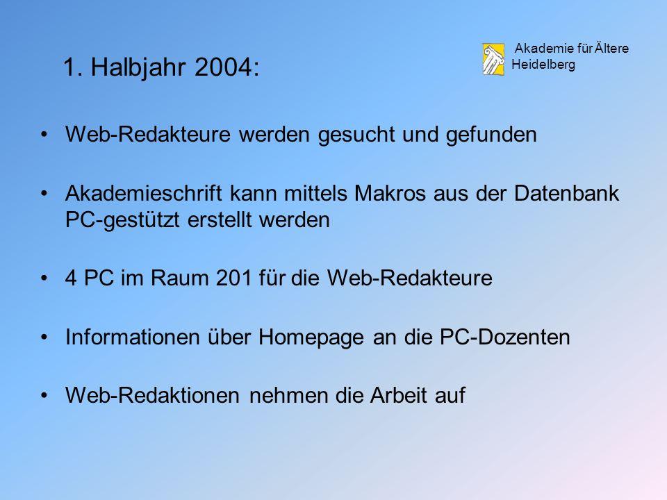 Akademie für Ältere Heidelberg 1.