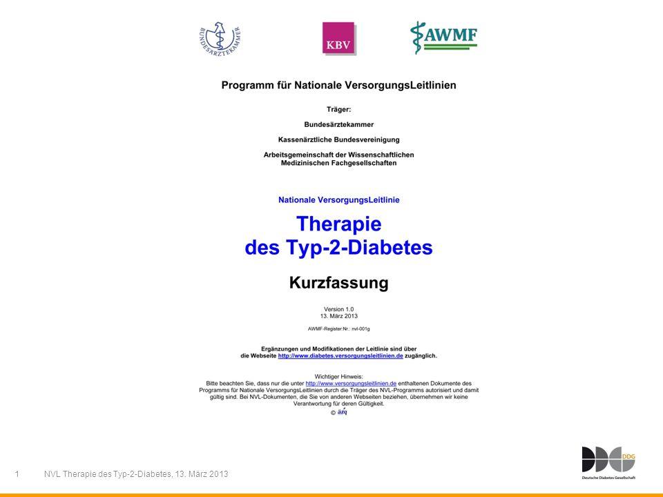 1 NVL Therapie des Typ-2-Diabetes, 13. März 2013