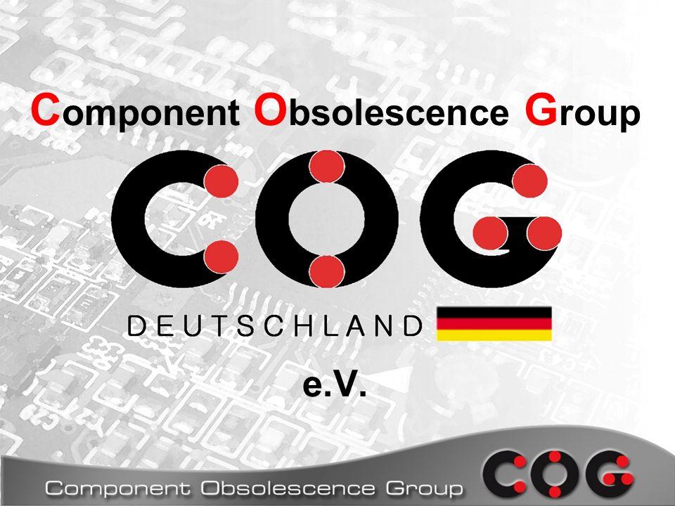 C omponent O bsolescence G roup e.V.