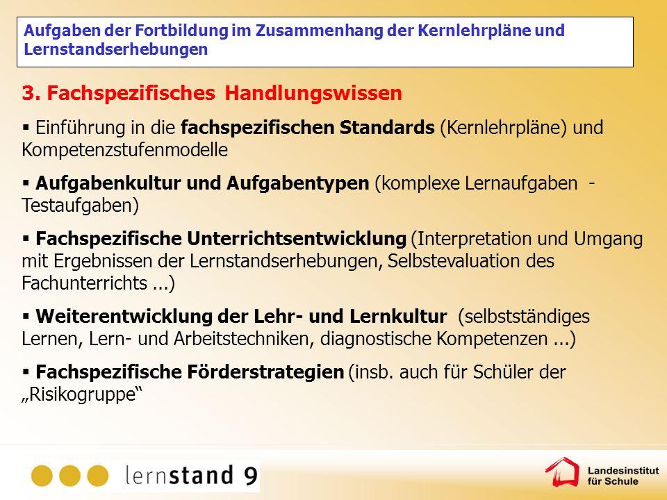 Zentrale Lernstandserhebungen in Nordrhein-Westfalen Danke für Ihre Aufmerksamkeit