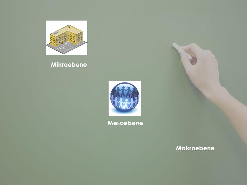 Mikroebene Mesoebene Makroebene