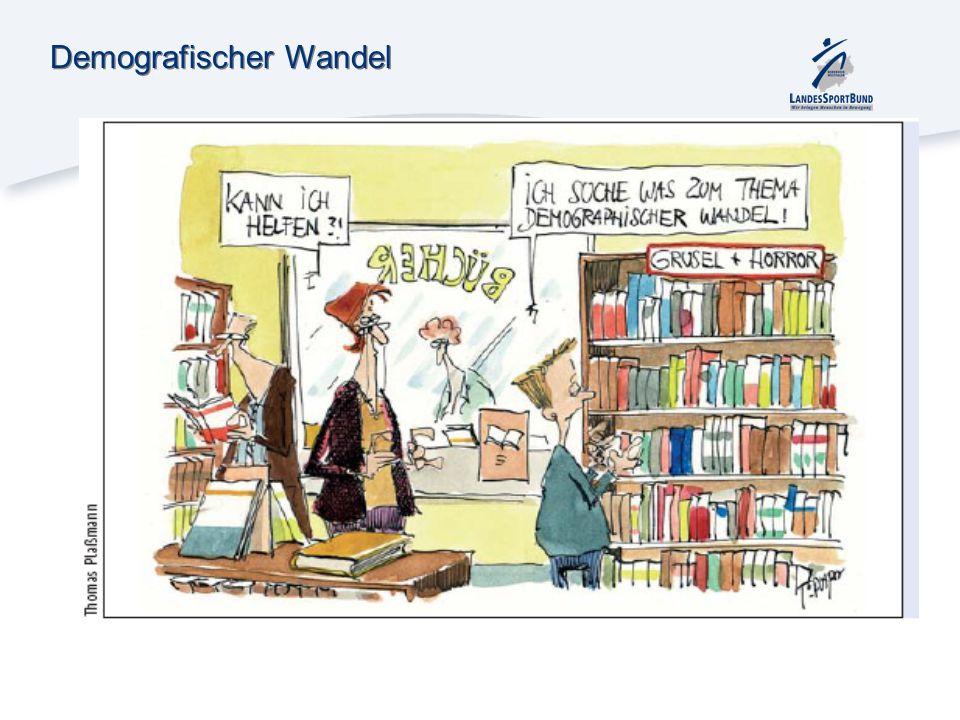 Demografischer Wandel und der organisierte Sport Die Deutschen verändern sich – Was kann der organisierten Sport tun.