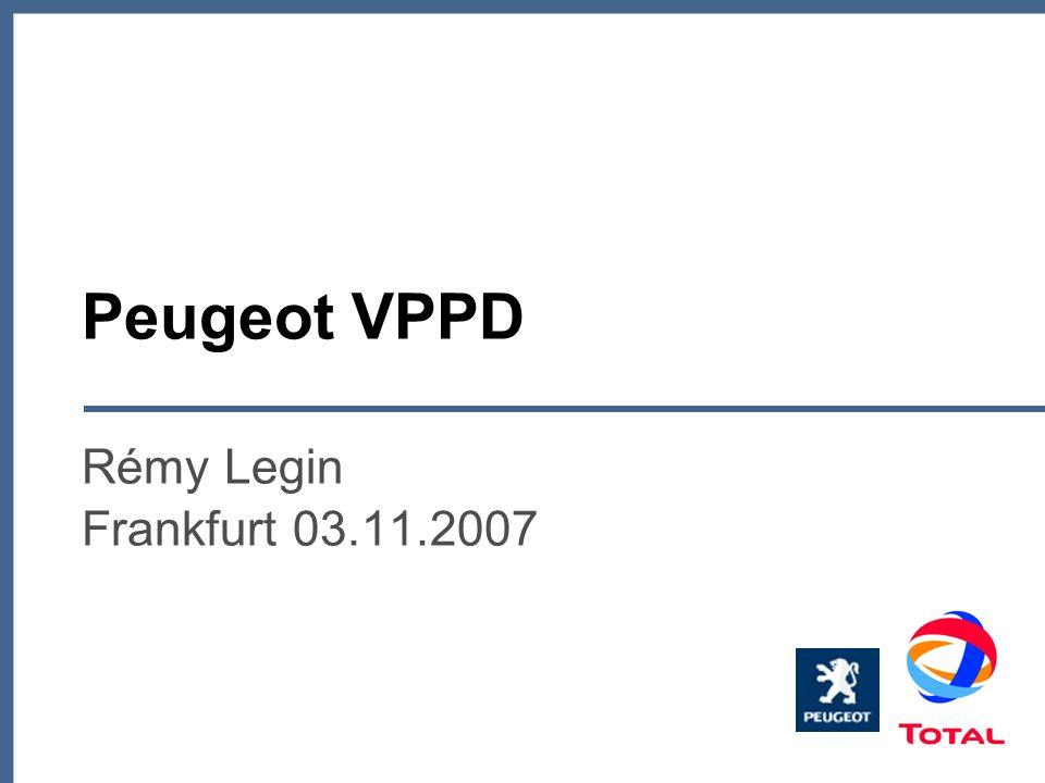 Peugeot VPPD Rémy Legin Frankfurt 03.11.2007