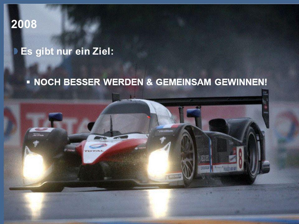 TOTAL Deutschland GmbH, Rémy Legin 2008 Es gibt nur ein Ziel: NOCH BESSER WERDEN & GEMEINSAM GEWINNEN!