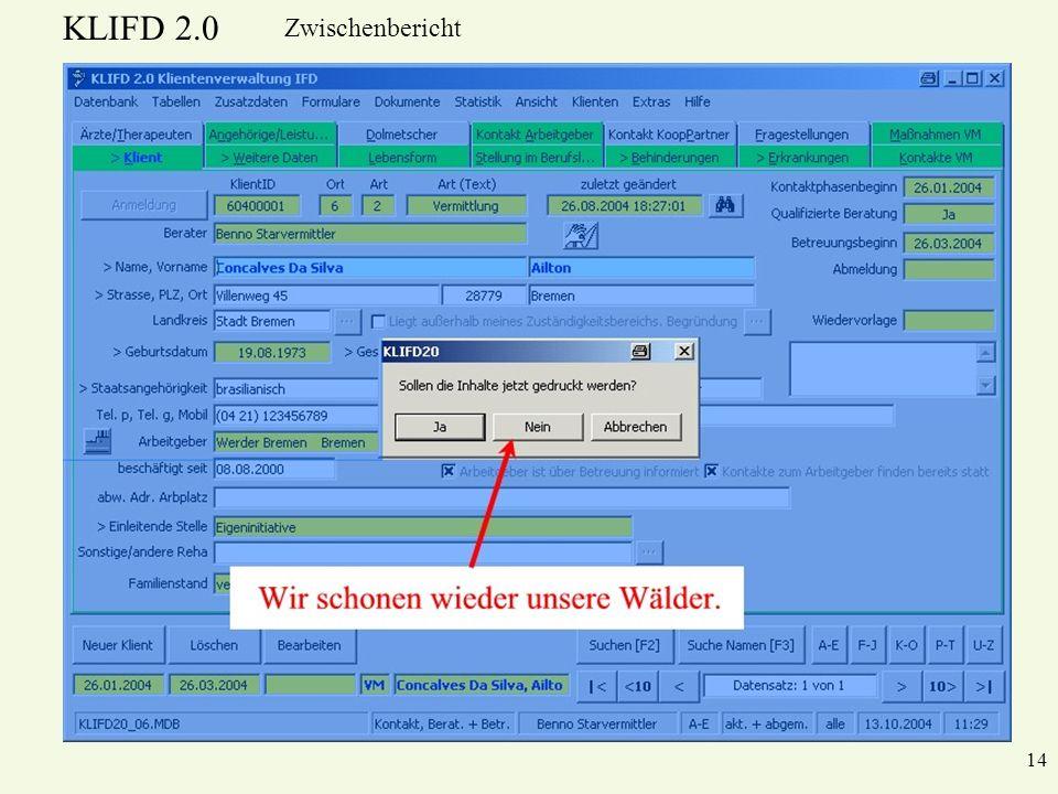 KLIFD 2.0 Zwischenbericht 14