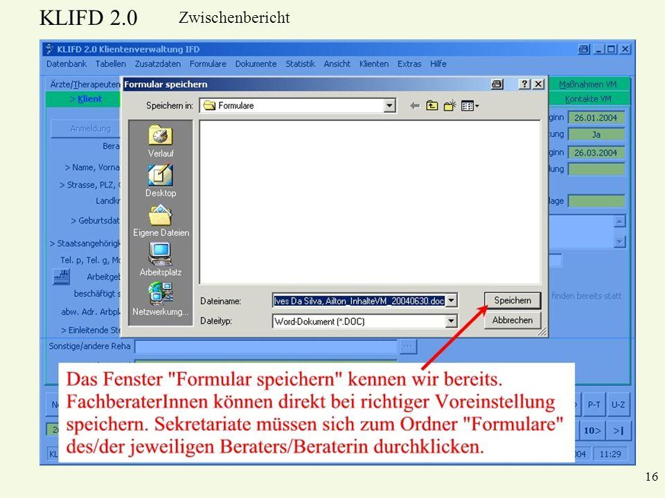 KLIFD 2.0 Zwischenbericht 16