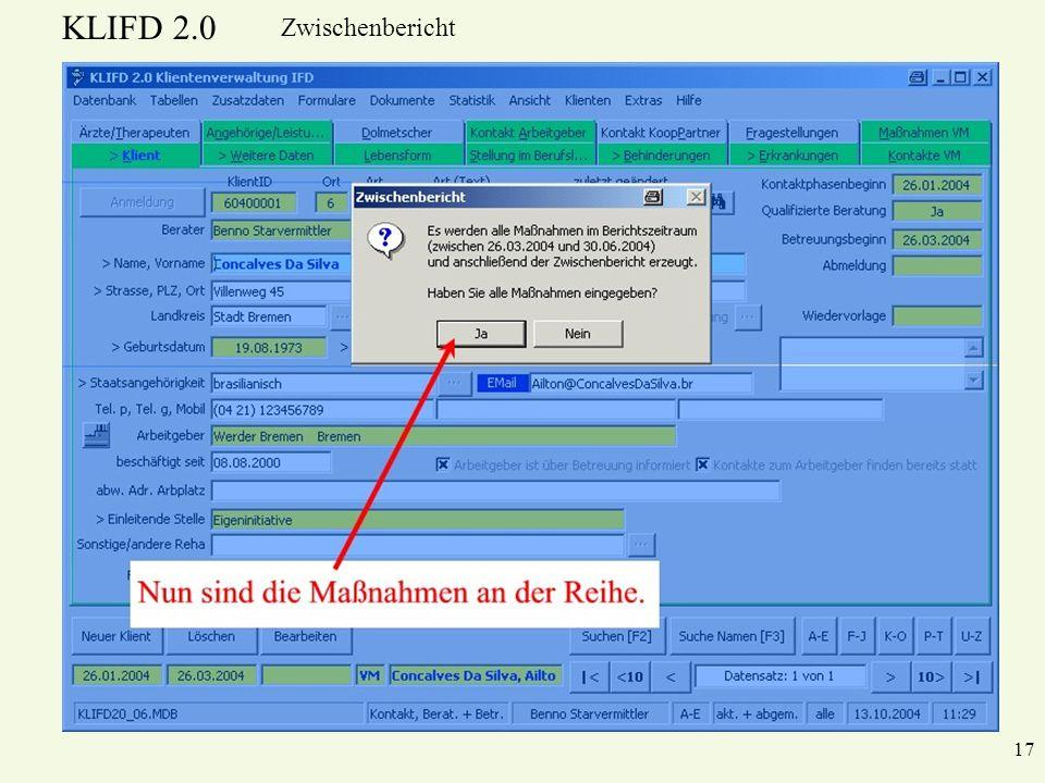 KLIFD 2.0 Zwischenbericht 17