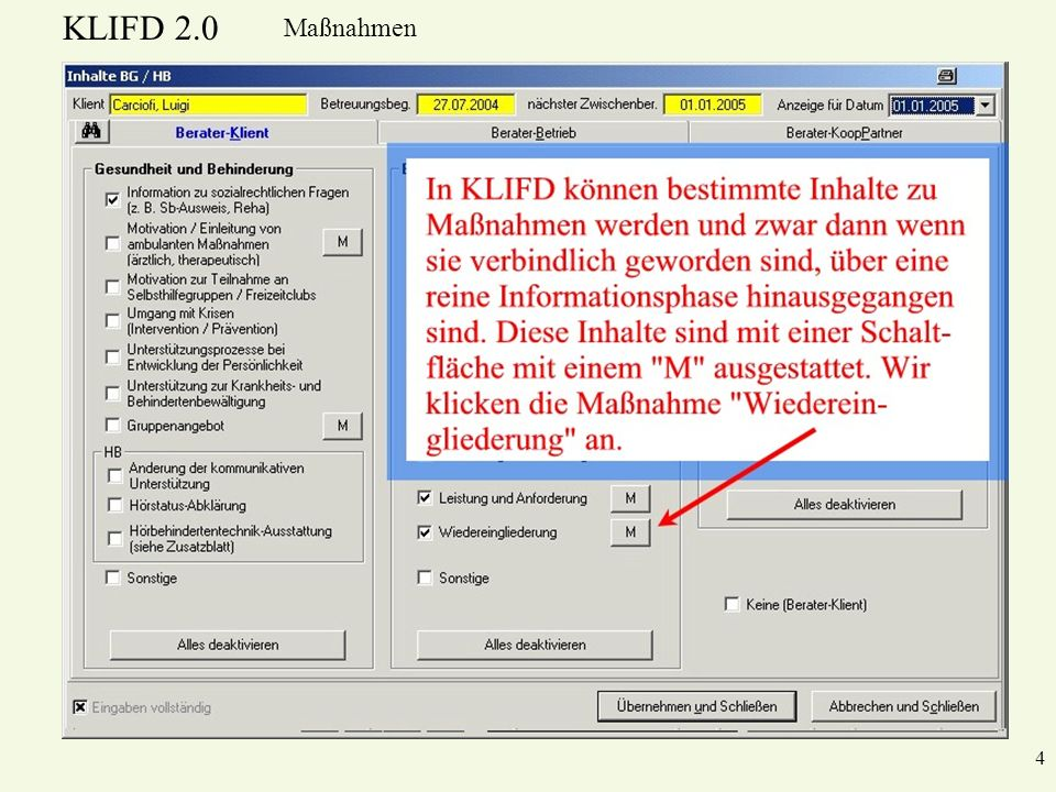 KLIFD 2.0 Maßnahmen 4