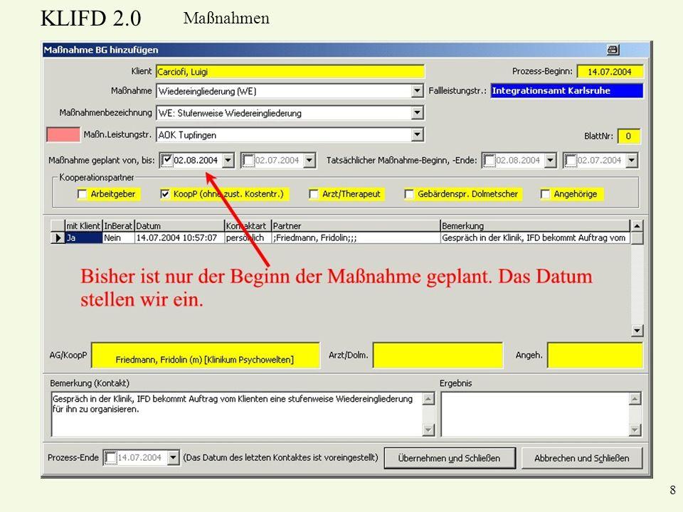 KLIFD 2.0 Maßnahmen 8