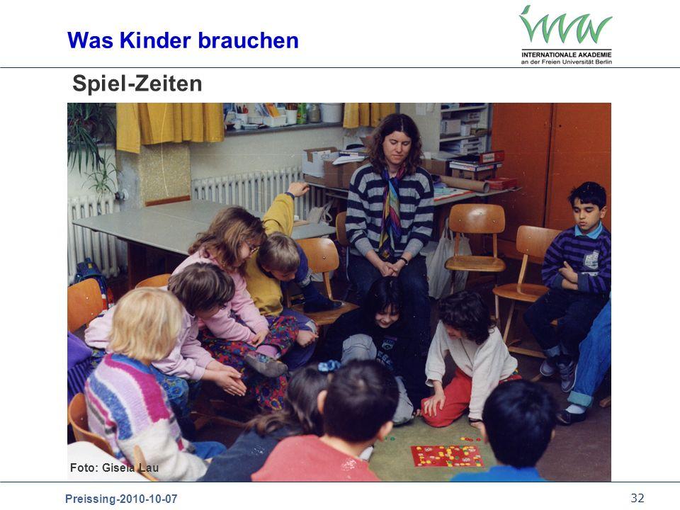 32 Preissing-2010-10-07 Spiel-Zeiten Was Kinder brauchen Foto: Gisela Lau