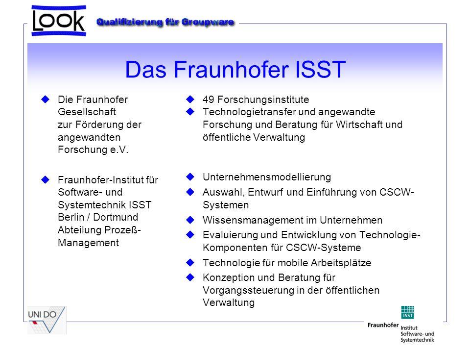 Das Fraunhofer ISST uDie Fraunhofer Gesellschaft zur Förderung der angewandten Forschung e.V.