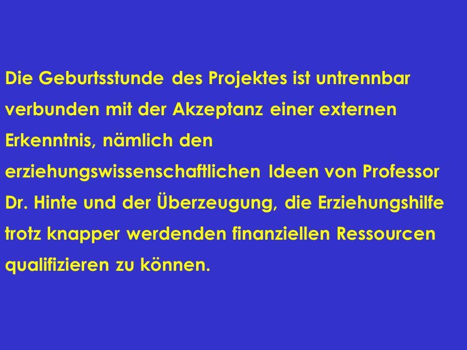 Wichtigstes Ziel des Projektes ist es demnach, im Zusammenwirken von freien und öffentlichen Trägern eine fachliche Weiterentwicklung der Hilfen zur Erziehung im Kreis Nordfriesland herbeizuführen.