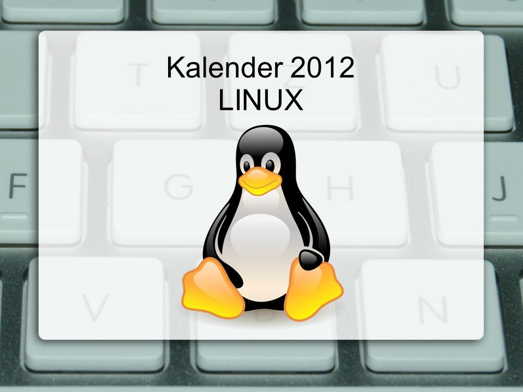 Kalender 2012 LINUX