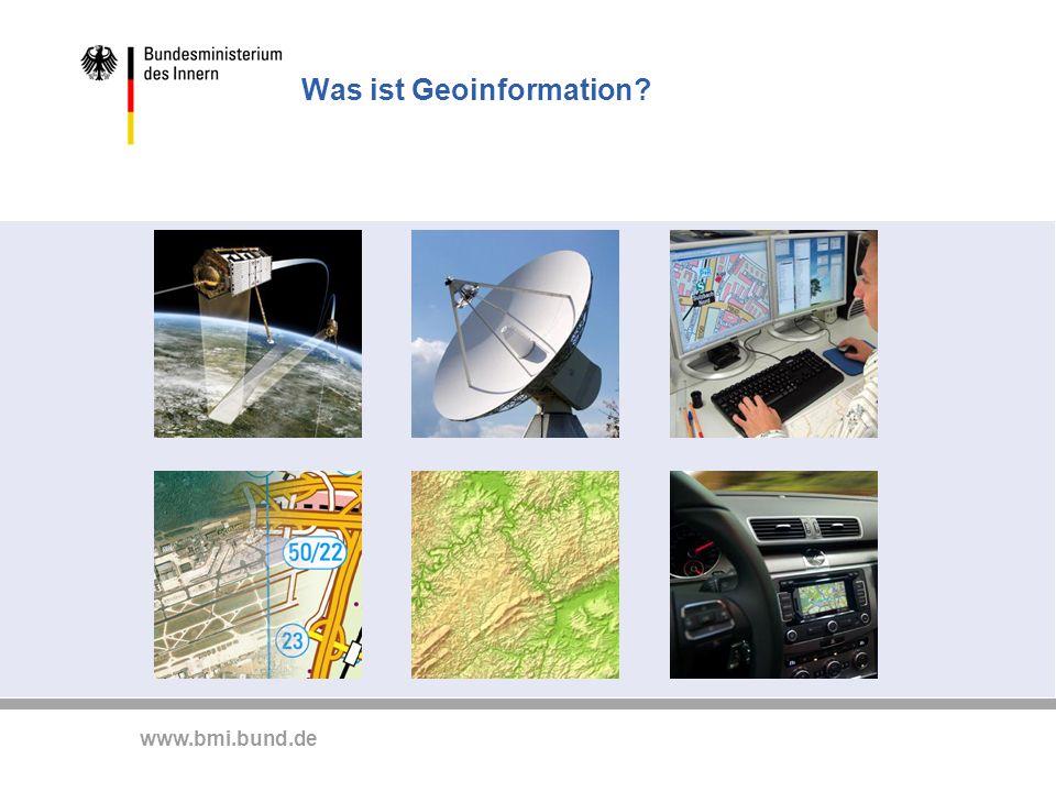 www.bmi.bund.de Nichts geht ohne Geoinformationen - Beispiele - Lärmbelastung durch Schienenverkehr - Dokumentation und Lärmkartierung im EBA © Eisenbahnbundesamt