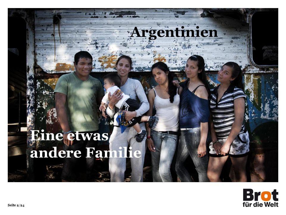 Seite 2/24 Argentinien Eine etwas andere Familie