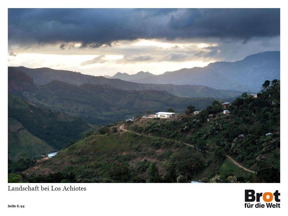 Seite 6/22 Landschaft bei Los Achiotes