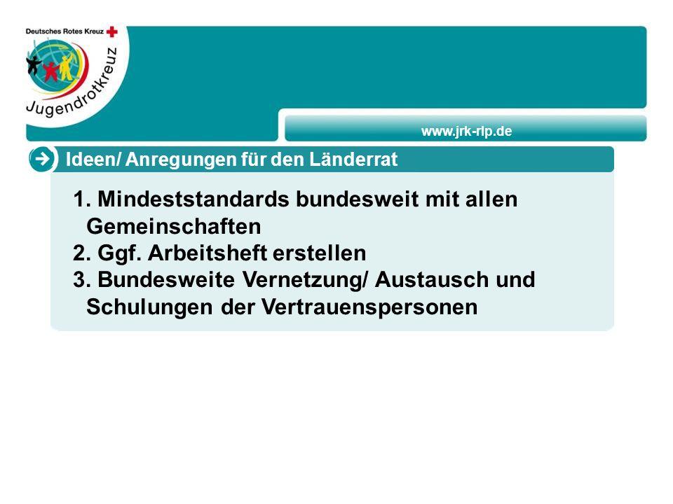 www.jrk-rlp.de Ideen/ Anregungen für den Länderrat 1.