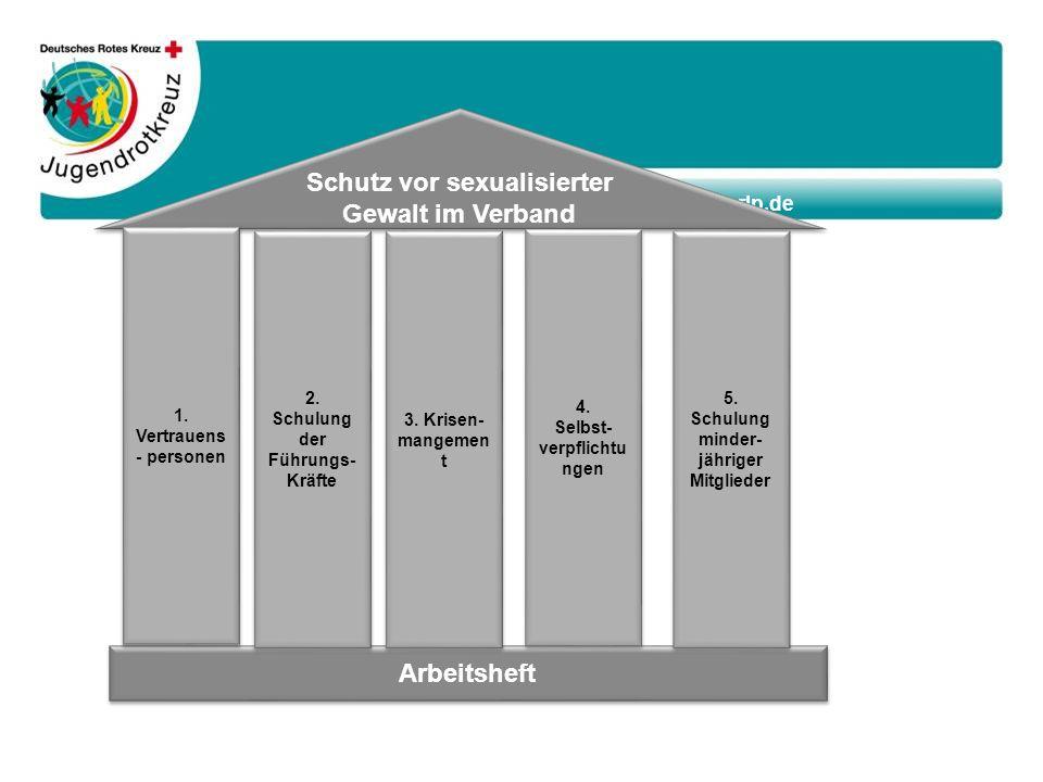 www.jrk-rlp.de Arbeitsheft Schutz vor sexualisierter Gewalt im Verband 1.
