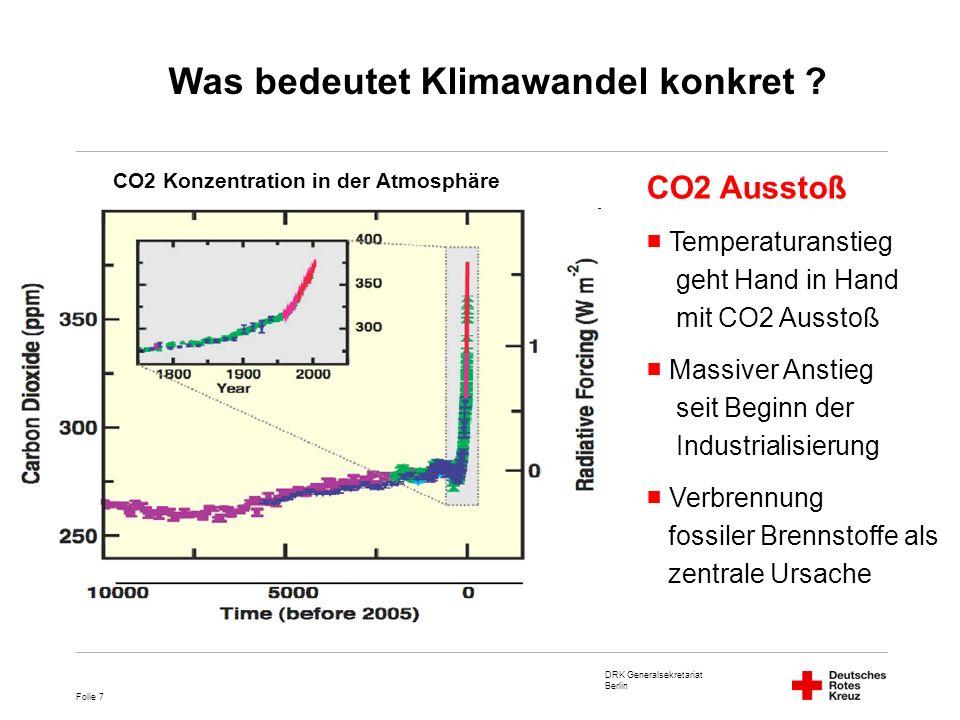 DRK Generalsekretariat Berlin Folie 18 Folgen im Bereich Gesundheit Größere Verbreitung von Infektionskrankheiten, z.B.
