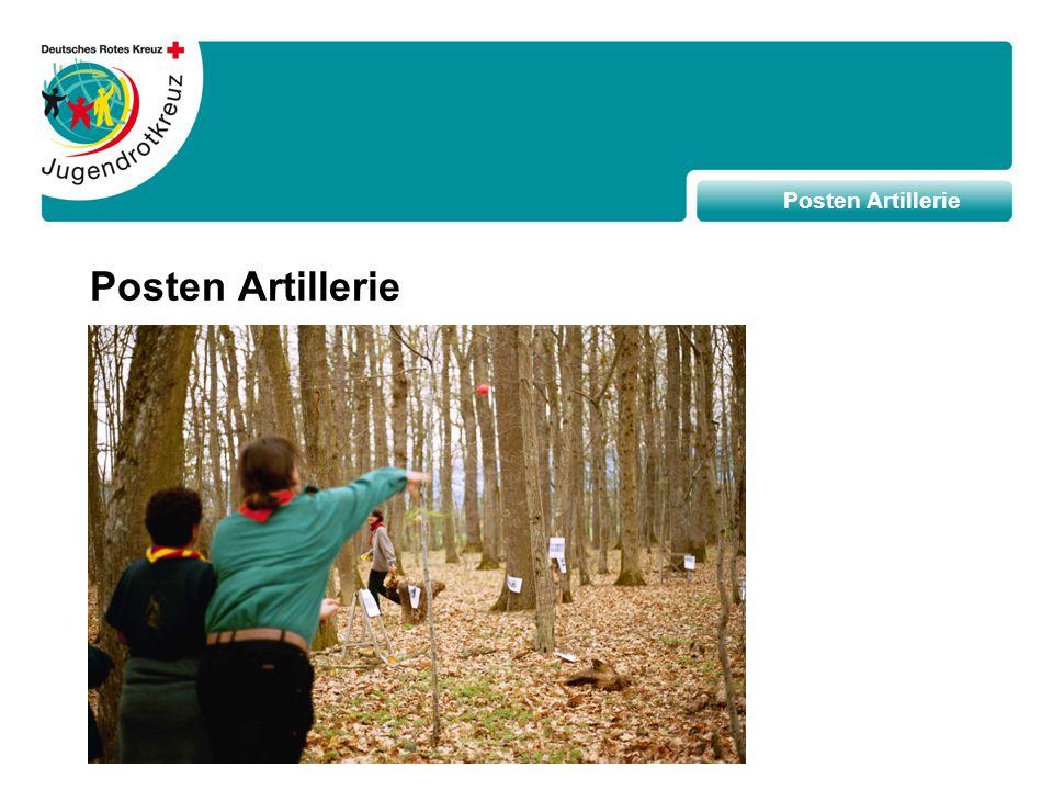 Posten Artillerie