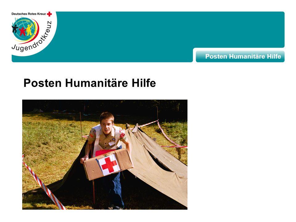 Posten Humanitäre Hilfe