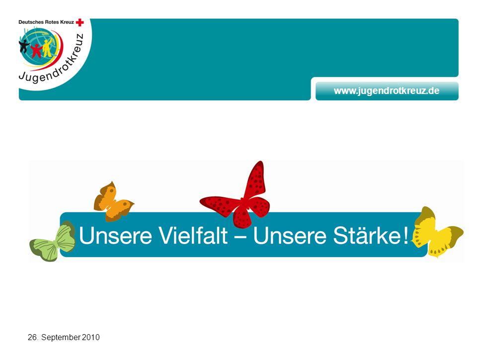www.jugendrotkreuz.de 26. September 2010