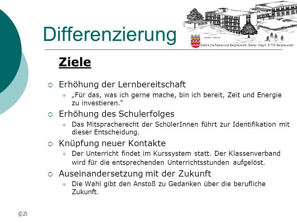 ©Zi Differenzierung Unterrichtsfächer (4.