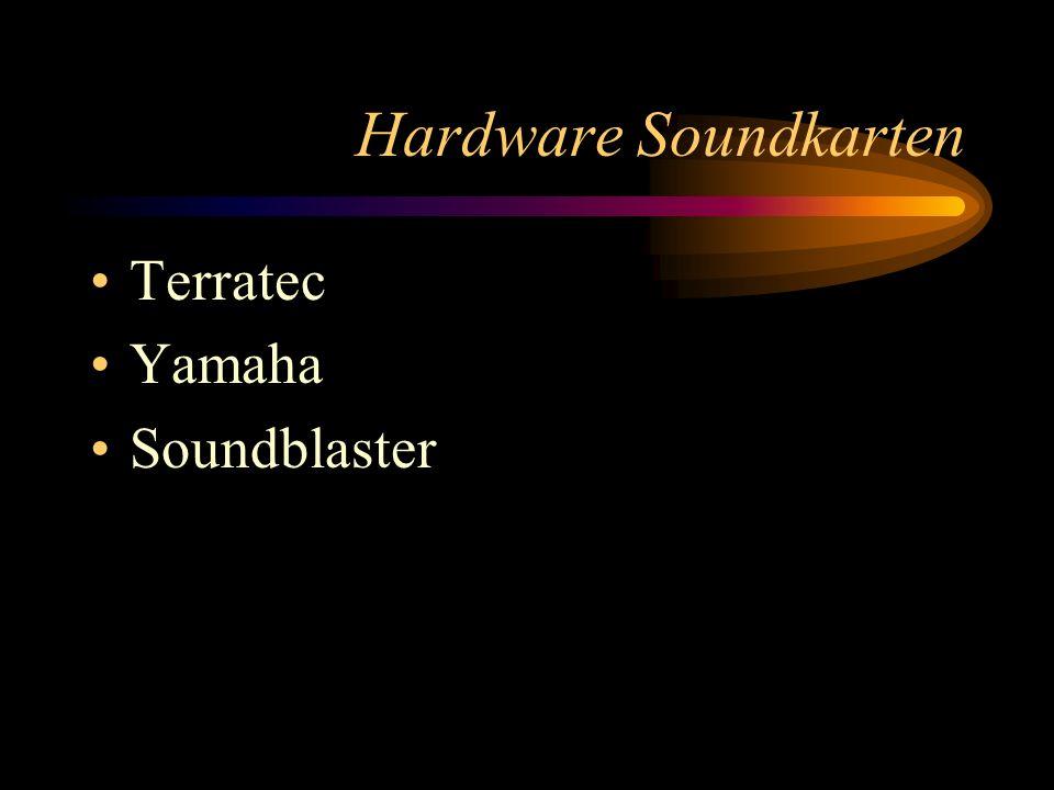Ausstattung am THG Sequenzerprogramme: Emagic micrologic(Schüler und Lehrer)/ Audio Gold (Lehrer) Hardware: Soundkarten: Soundblaster 64 oder 128 Yamaha xg...