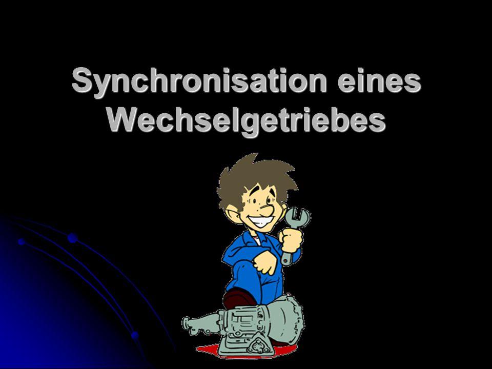 Ablauf der Präsentation I.Einleitung II. Synchronisation 1.