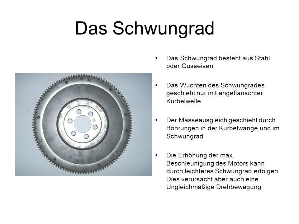 Das Zweimassenschwungrad Das Zweimassenschwungrad hat die Aufgabe die Drehmomentschwankung die bei Hubkolbenmotoren in niedrigen Drehzahlen entsteht auszugleichen.