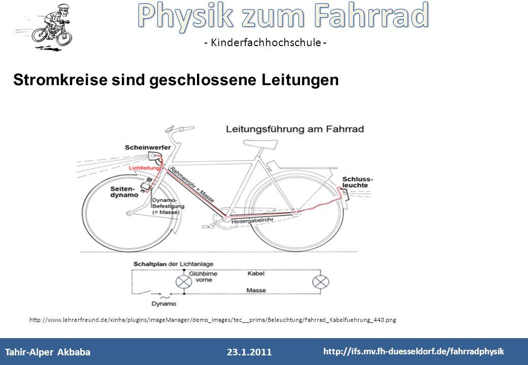 - Kinderfachhochschule - Fatih Ülger Elektrik Optik 12.03.11 http://ifs.mv.fh-duesseldorf.de/fahrradphysik Background DASYlab: Abtastrate
