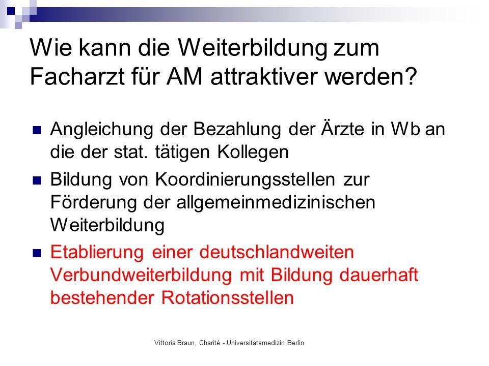 Vittoria Braun, Charité - Universitätsmedizin Berlin Ein Anfang ist gemacht: Foto: www.büsser-coaching.de