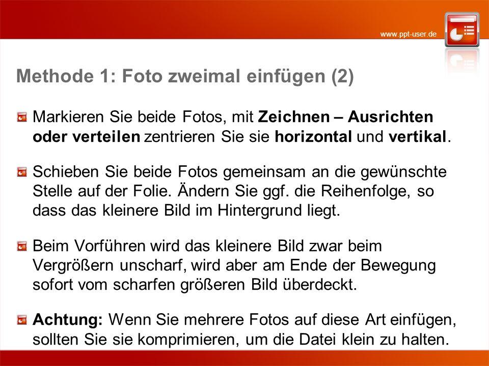 www.ppt-user.de Dies ist ein großer Text Methode 2 - Beispiel