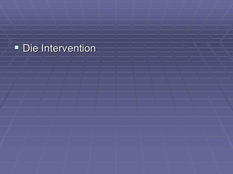 Die Intervention Die Intervention