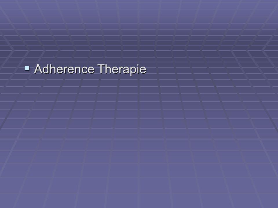 Adherence Therapie Adherence Therapie