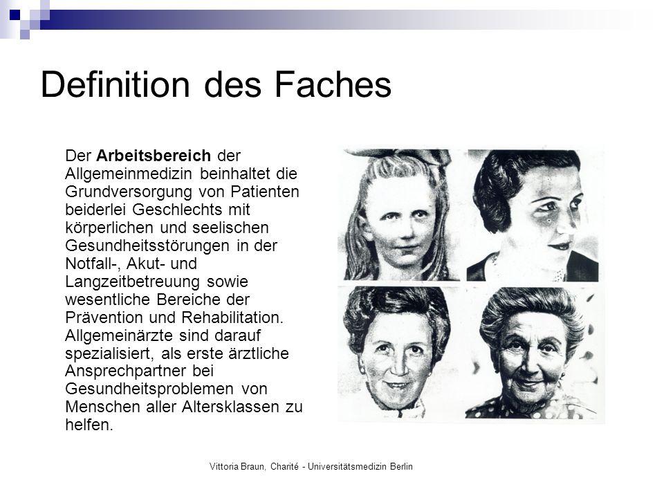 Ausgangssituation: 90% der Deutschen haben einen Hausarzt, 96% der >65jährigen.