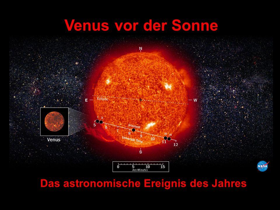Wenn der Venusdurchgang z.B.