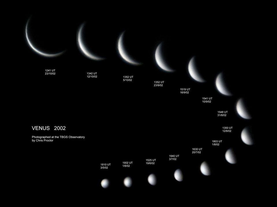 Bedingungen für Venusdurchgänge: 1.Untere Konjunktion 2.