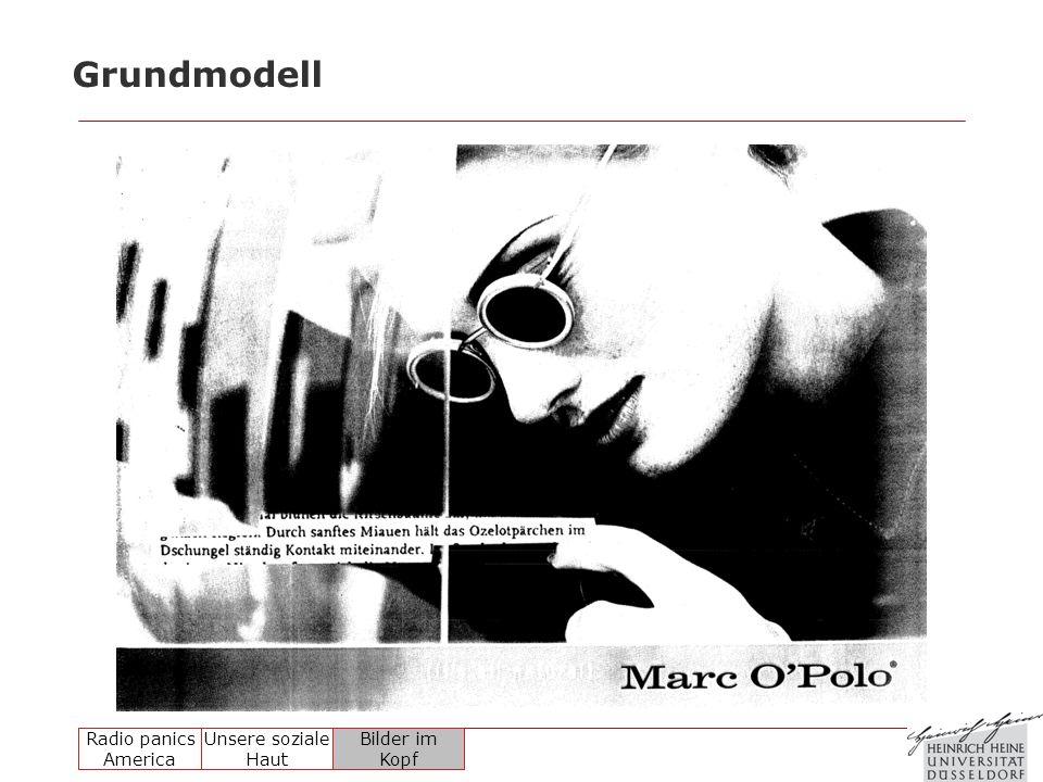 Radio panics America Unsere soziale Haut Bilder im Kopf Grundmodell