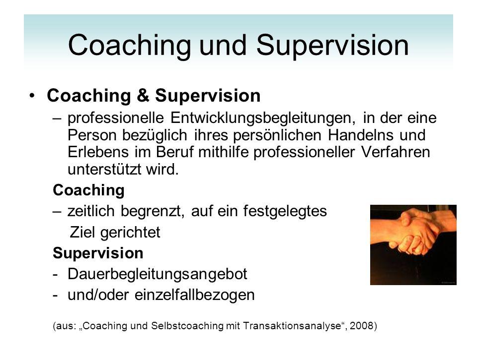 DIAMANT der Personenqualifizierung als Grundlage für Coaching und Supervision Verschiedene Perspektiven