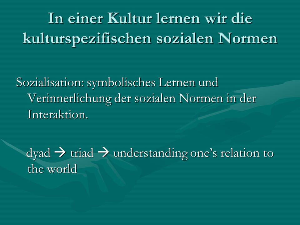 Soziale Normen: Regeln Formale Normen vs.informale NormenFormale Normen vs.