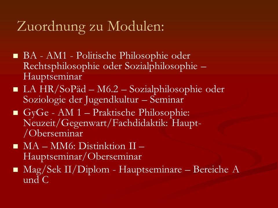 Seminarprogramm: 8.5. 10: Liebe, Personalität und interpersonelle Beziehungen 8.